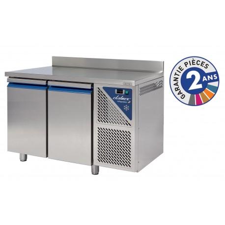 Table réfrigérée négative 300 L - 2 portes - Sans groupe logé - Dalmec