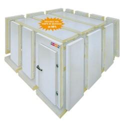 Chambre froide négative - Isolation 100 mm - Instaclack - Nosem