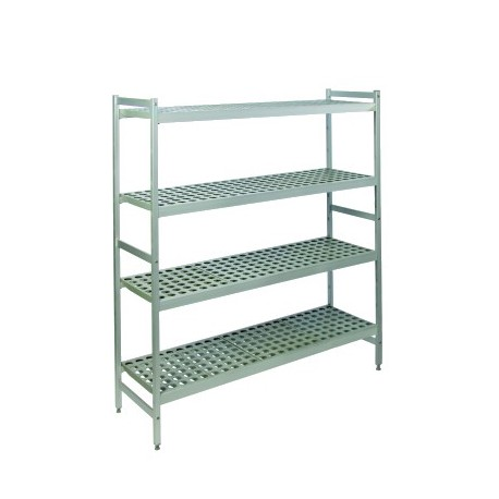 Rayonnage duralinox pour chambres froides - Profondeur 365 mm