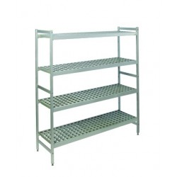 Rayonnage duralinox pour chambres froides - Profondeur 470 mm