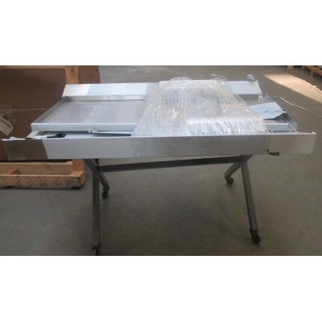 Table inox entrée/sortie - Prof. 700 mm - 75483 - COLGED - Occasion
