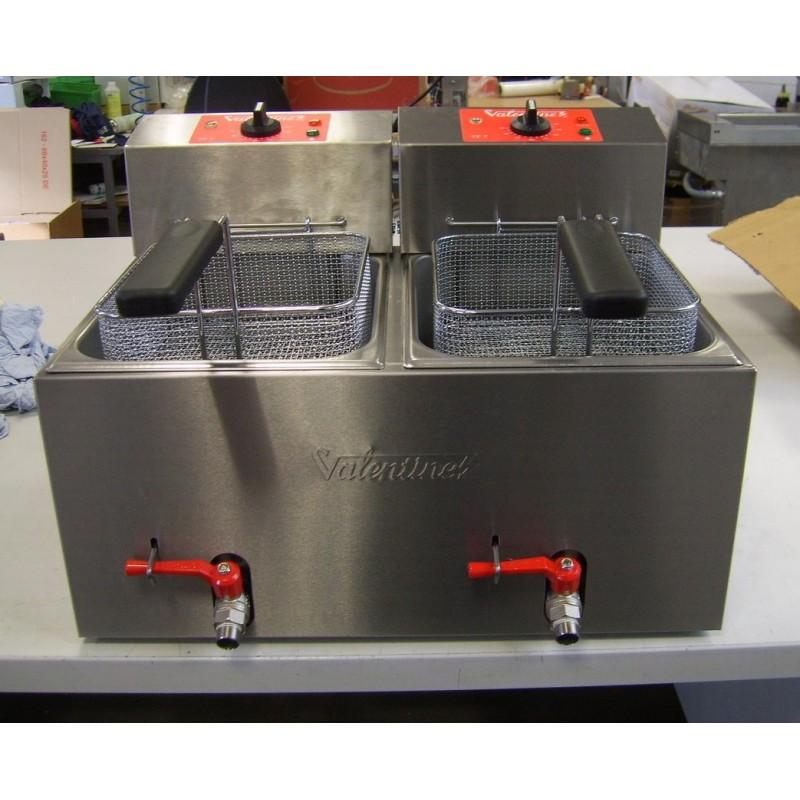 Occasion valentine friteuse lectrique de table 2x7l - Table elevatrice electrique occasion ...