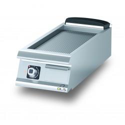 D7210TFTER - Élément top - Grillade électrique - Plaque rainurée - 335 x 530 mm - Diamante 70 - Olis