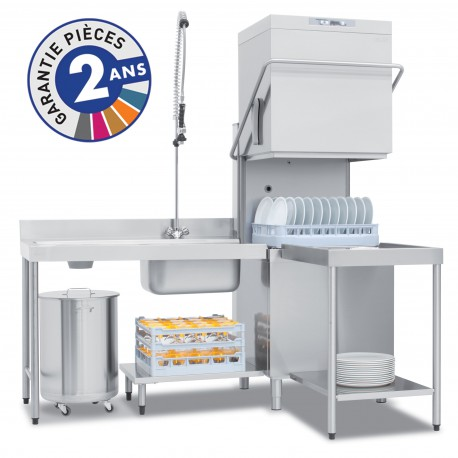 Lave-vaisselle à capot - PRO811L