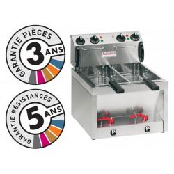 Friteuse électrique de table - 2x5 litres - Valentine - BB55M