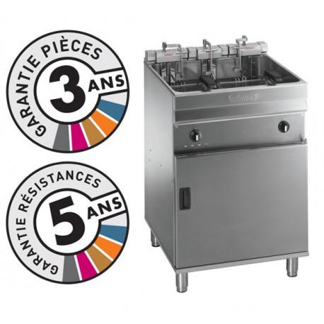 Friteuse électrique sur coffre - 25-28 litres - Valentine - EVO600