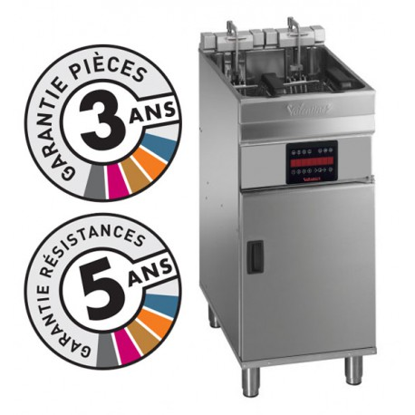 Friteuse électrique sur coffre - 15-18 litres - Valentine - EVOC400T
