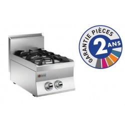 Plaque de cuisson - Top 2 feux vifs gaz - Gamme 650 - Baron