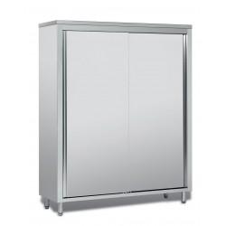 Armoire haute en inox - Hauteur 1800 mm - Profondeur 500 mm