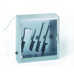Armoire inox à stériliser - 10 couteaux