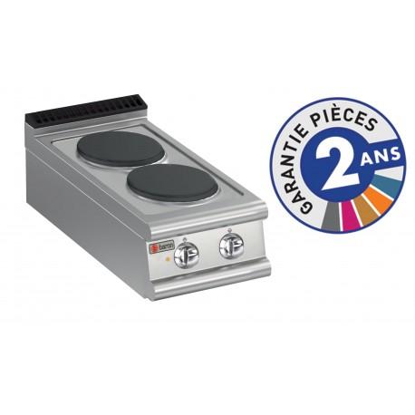 Plaque de cuisson - 2 plaques électriques - Gamme 700 - Baron