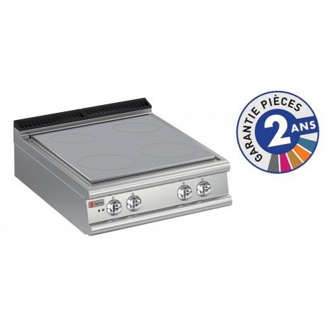 Plaque de cuisson - Plaque monobloc 4 zones - Gamme 700 - Baron