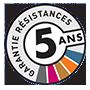 Garantie 5 ans sur les résistances