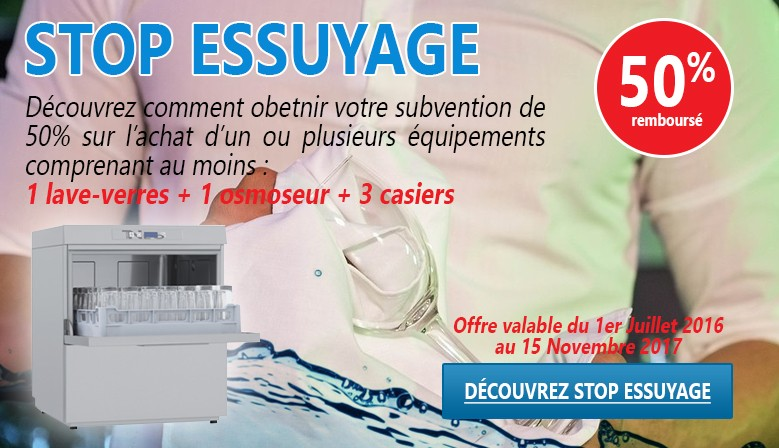 Stop Essuyage