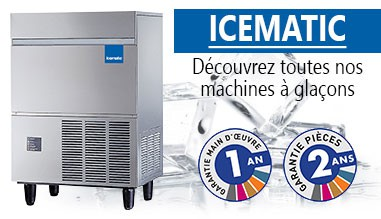 Machines à glaçons ICEMATIC