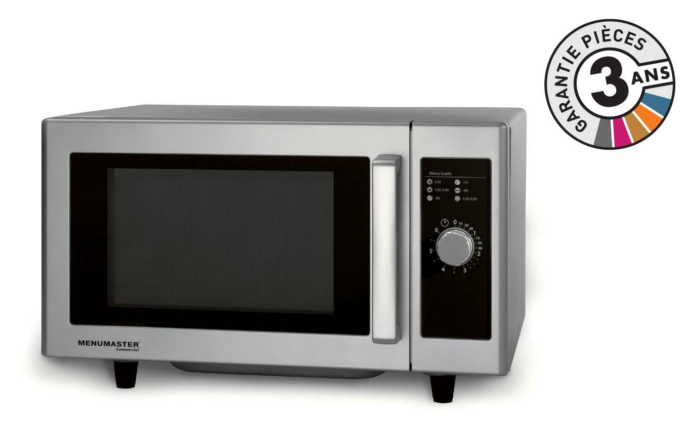 menumaster - rms510ds - four micro-ondes professionel - 23 l - 1000 w