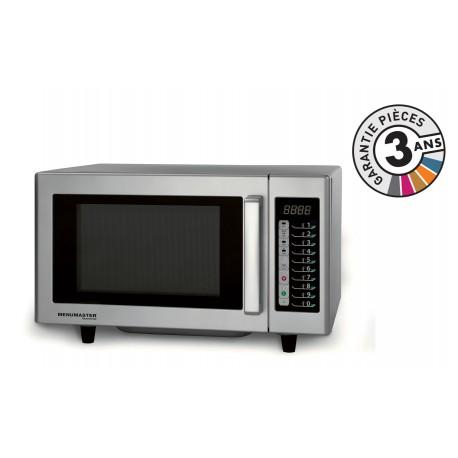 Four micro-onde professionnel - 23 L - 1000 W - RMS510TS - Menumaster