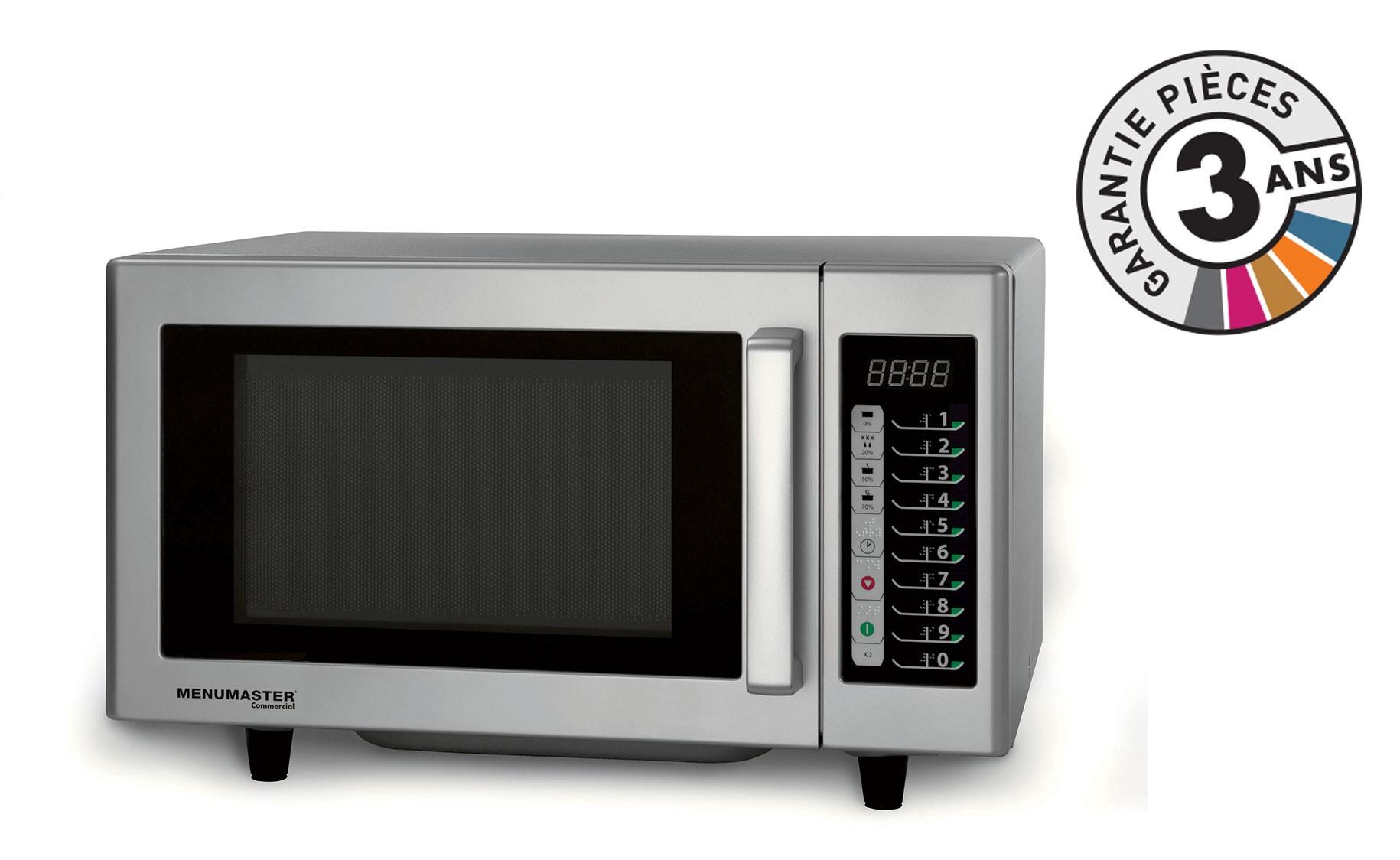 menumaster rmsd510ts four micro onde professionel 23 l 1000 w. Black Bedroom Furniture Sets. Home Design Ideas