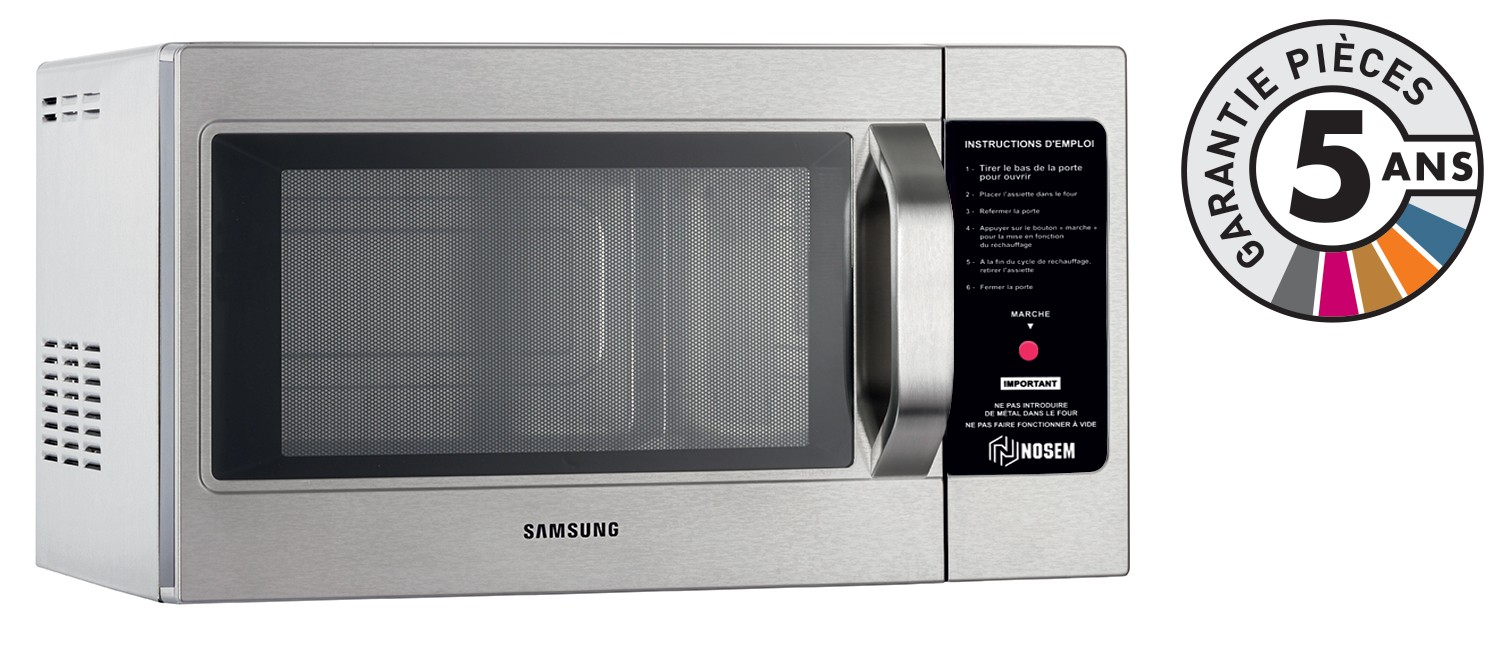 samsung - cm1099ac - four micro-onde pro cafétéria - 26 l - 1050 w
