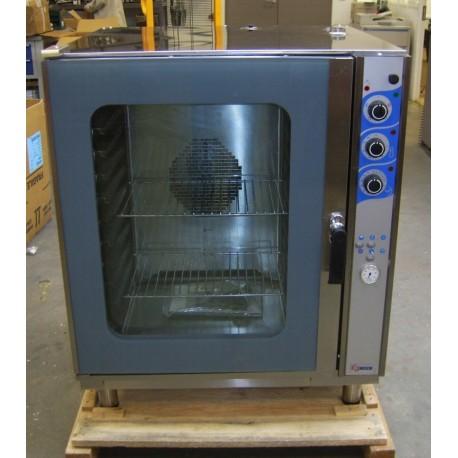 Four mixte vapeur électrique - 600 x 400 compatible GN1/1 - FM100EM2 - COMBINOX
