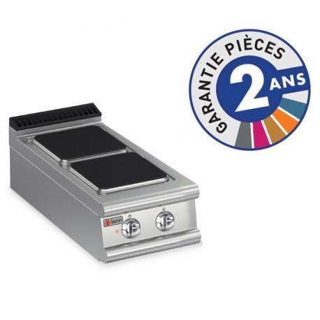 Plaque de cuisson - 2 plaques carrées électriques - Gamme 900 - Baron