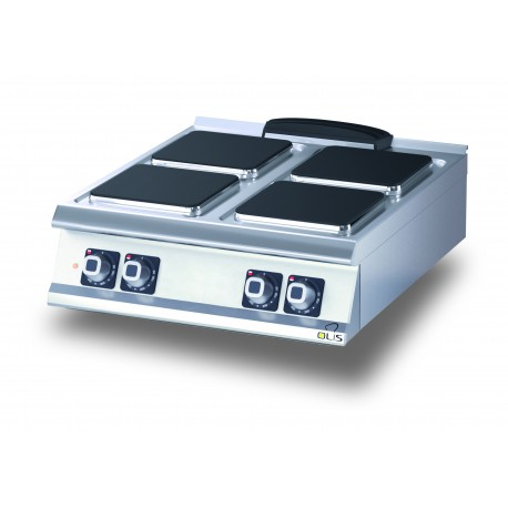 Plaque de cuisson - Top 4 plaques carrées électriques - Diamante 70 - Olis