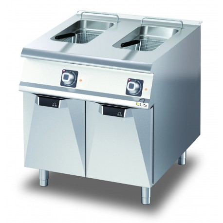 Friteuse électrique - 2 x 15 litres - Diamante 70 - Olis