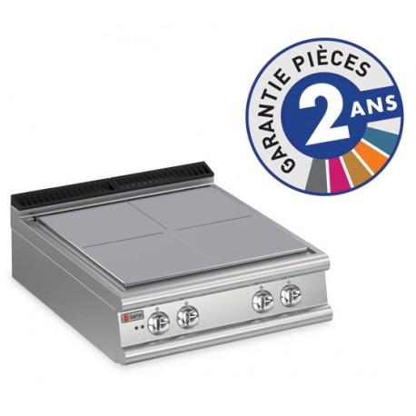 Plaque de cuisson - Plaque monobloc 4 zones - Gamme 900 - Baron