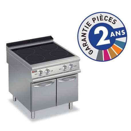 Plaque de cuisson - Induction 4 zones sur placard neutre - Gamme 900 - Baron
