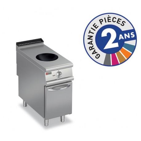 Plaque de cuisson - Induction Wok 1 zone sur placard ouvert - Gamme 900 - Baron