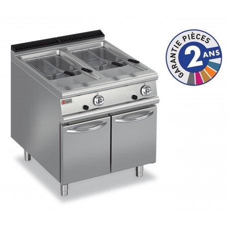 Friteuse à gaz - 2x 15 litres - Gamme 900 - Baron