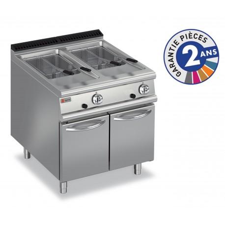 Friteuse à gaz - 2x 20 litres - Gamme 900 - Baron