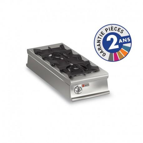 Plaque de cuisson - Top 2 feux vifs gaz - Gamme 1100 - Baron