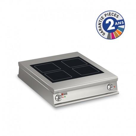 Plaque de cuisson vitrocéramique électrique - 4 zones - Gamme 1100 - Baron