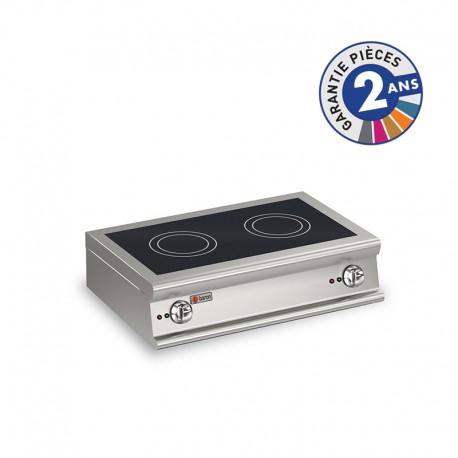 Plaque de cuisson à induction - 2 zones - Gamme 900 - Baron