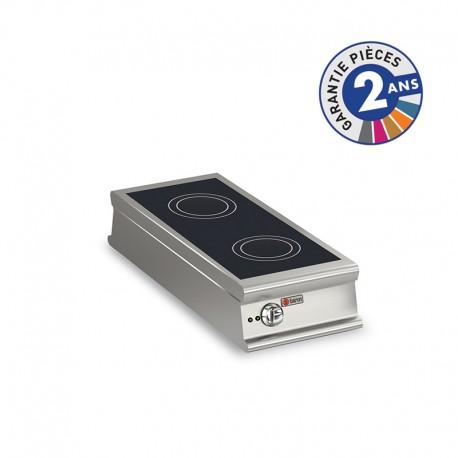 Plaque de cuisson à induction - 2 zones - Gamme 1100 - Baron - 110PCIND450
