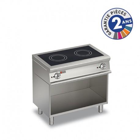 Plaque de cuisson à induction sur placard ouvert - 2 zones - Gamme 1100 - Baron