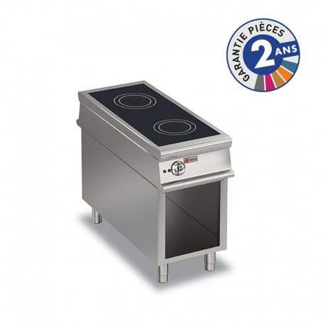Plaque de cuisson à induction sur placard ouvert - 2 zones - Gamme 1100 - Baron - 110PCVIND450