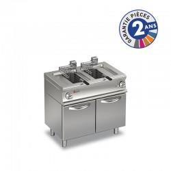 Friteuse électrique - 2 x 10 litres - Gamme 1100 - Baron