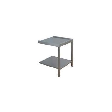 Table lisse pour machines à capot panier 500 x 500 et panier 600 x 500 - PAP707