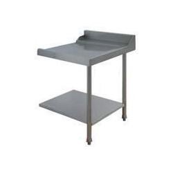 Table lisse pour machines à capot panier 500 x 500 et panier 600 x 500 - PAP707D