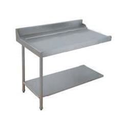Table lisse pour machines à capot panier 500 x 500 et panier 600 x 500 - PAP712G