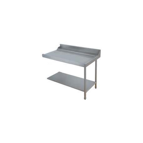 Table lisse pour machines à capot panier 600 x 500 - PAP127DC