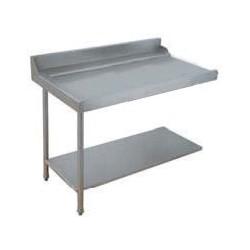 Table lisse pour machines à capot panier 600 x 500 - PAP127GC