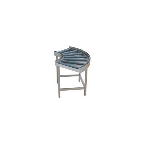 Courbe à -90° à rouleaux libres - 717068