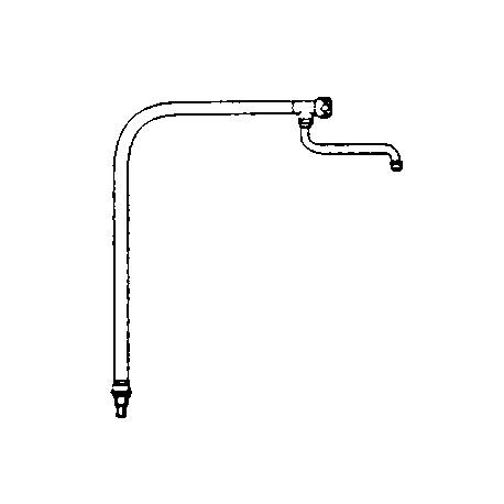 Colonne d'eau orientable hauteur 720 mm - CH14