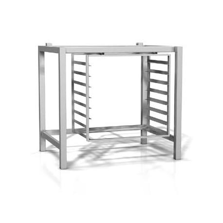 Support de base en acier inox avec porte plaques incorporé - RSP071