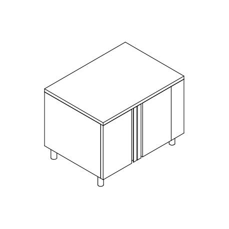 Placard fermé neutre pour fours 6 GN 1/1 - GANT07