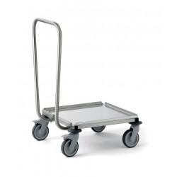 Chariot porte casiers avec poignée - CHPC5050T