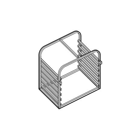 Structure porte-grilles GN 2/1 - AST072